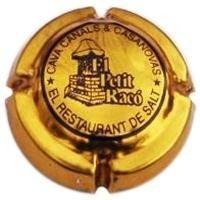 El Petit Racó. El Restaurant de Salt. Cava Canals & Casanovas.