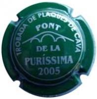 Trobada de Plaques de Cava Pont de la Puríssima 2005.