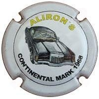 ALIRON´S--X.89139 ( Continental Mark 1968)